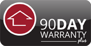 90 Day warranty Logo Precision Home Inspection Ithaca