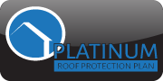 Platinum Roof protection plan logo Precision Home Inspection Ithaca